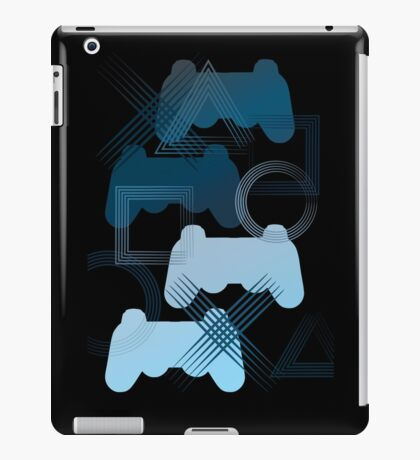 PS3 Gaming blue iPad Case/Skin