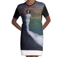 Wicked Game Graphic T-Shirt Dress