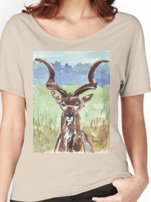 Greater Kudu (Tragelaphus strepsiceros) Women's Relaxed Fit T-Shirt