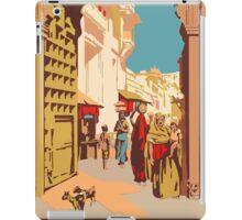 See Indian Vintage Travel Poster iPad Case/Skin