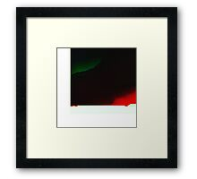 Mirror to the night Framed Print