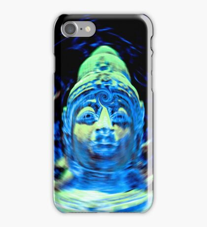 Buddha Blue iPhone Case/Skin