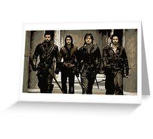 Musketeers Greeting Card