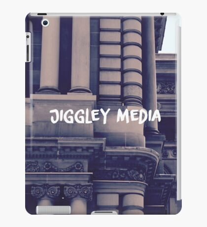 Jiggley Media (New!) iPad Case/Skin