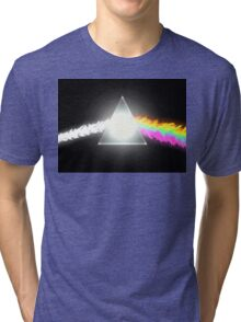 psychedelic dark side of the moon Tri-blend T-Shirt