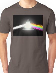 psychedelic dark side of the moon Unisex T-Shirt