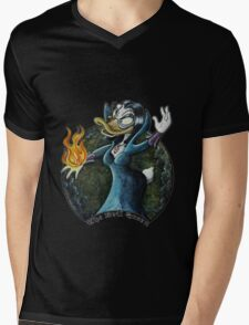 Evil Queen, Once upon a Duck Mens V-Neck T-Shirt