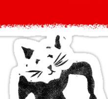Rat Graffiti Sticker