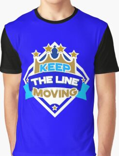KC Royals: Keep the Line Moving Seal Graphic T-Shirt
