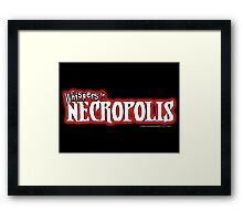 Whispers in Necropolis Framed Print