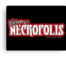 Whispers in Necropolis Canvas Print