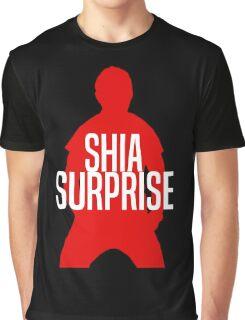 Shia Surprise Graphic T-Shirt