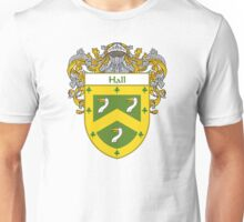 Hall Coat of Arms/Family Crest Unisex T-Shirt