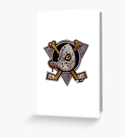 Mighty Zombies Greeting Card