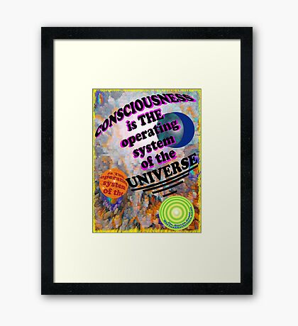 THE OPERATING SYSTEM Framed Print