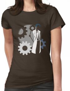 Maker of time machine - steins gate anime Womens Fitted T-Shirt