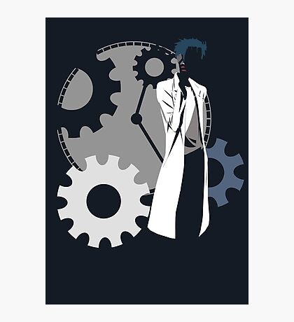Maker of time machine - steins gate anime Photographic Print