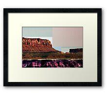 Patchwork Framed Print