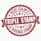 Triple Stamp by DetourShirts