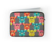Invasion of the Geometric Furby Laptop Sleeve