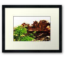 Triassic Park Framed Print