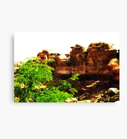 Triassic Park Canvas Print