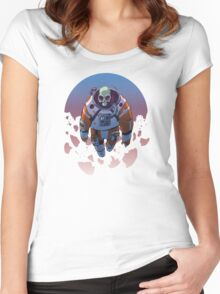 Spacetronaut - S34RCH1NG C010R Women's Fitted Scoop T-Shirt