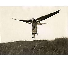 Ornithopter - Early manned flight - Airplane Photographic Print