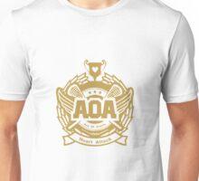 AOA Heart Attack Logo - Gold Version Unisex T-Shirt