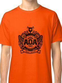 AOA Heart Attack Logo - Black Version Classic T-Shirt