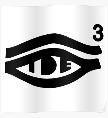 TDE Hiii Power Logo 3 Poster