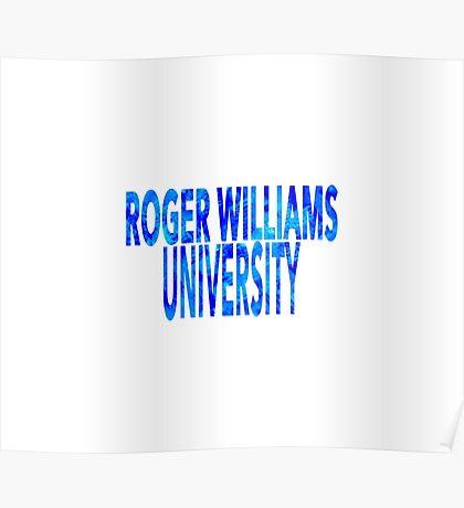 Roger Williams University Poster