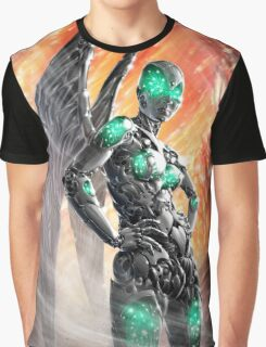 Cyberpunk Painting 013 Graphic T-Shirt