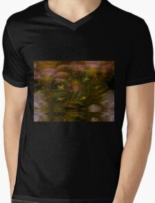 Soothed By Angels Mens V-Neck T-Shirt