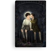 Teenlock  - Jim & Sherlock Canvas Print