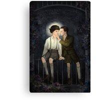 Teenlock  - Jim & Sherlock Canvas Print