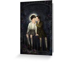 Teenlock  - Jim & Sherlock Greeting Card