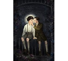 Teenlock  - Jim & Sherlock Photographic Print