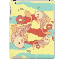 go with the flow iPad Case/Skin