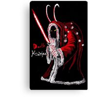 Darth Krampus Canvas Print