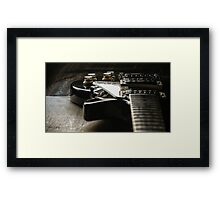 Les Paul (v6) Framed Print