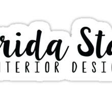 FSU-Interior Design with Arrow Sticker