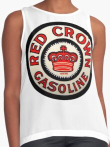 red Crown Gasoline Contrast Tank