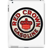 red Crown Gasoline iPad Case/Skin