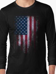 USA American Flag Long Sleeve T-Shirt