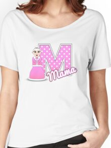 'M' is for Mama! Women's Relaxed Fit T-Shirt