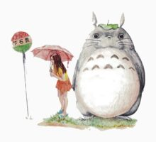 grown up totoro Baby Tee