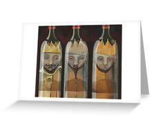 Bottled Kings Greeting Card