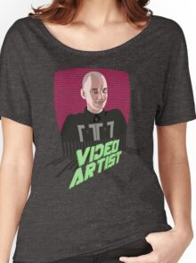 Knox Harrington, The Video Artist Women's Relaxed Fit T-Shirt