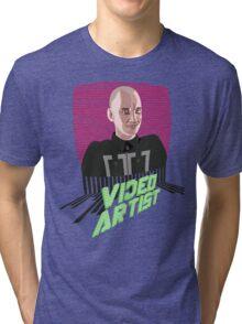 Knox Harrington, The Video Artist Tri-blend T-Shirt
